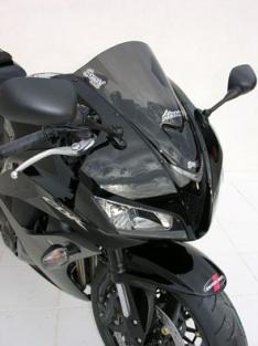 Ζελατίνα CBR 600RR Κουρμπαριστή Ermax 2007-2012 Honda Σκούρο Φιμέ 36cm