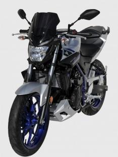 Ζελατίνα MT 03 Ermax Κοντή 2016-2019 Yamaha Σκούρο Φιμέ 30cm