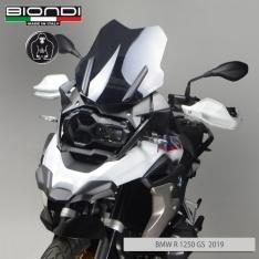 Ζελατίνα R1200/1250 GS Biondi Κοντή 2013-2020 BMW Μαύρη Φιμέ 44cm
