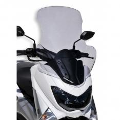 Ζελατίνα N Max 125/155 Ermax Ψηλή 2015-2020 Yamaha Ελαφρώς Φιμέ 70cm