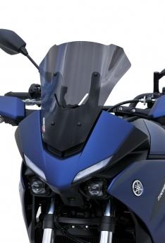 Ζελατίνα MT 07 Tracer Ermax Κοντή 2020-2021 Yamaha Σκούρο Φιμέ 36cm