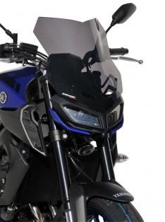 Ζελατίνα MT 09 Ermax Ψηλή 2017-2020 Yamaha Σκούρο Φιμέ 38cm