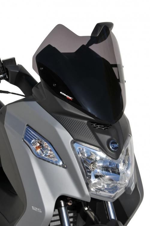 Ζελατίνα Joymax Z 125/300 Ermax Κοντή 2019-2020 Sym Σκούρο Φιμέ 35cm
