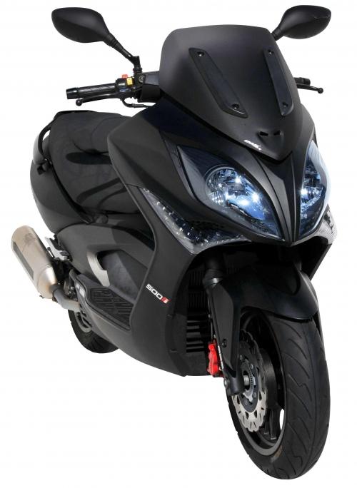 Ζελατίνα Xciting 300/500 Ermax Κοντή 2008-2014 Kymco Σκούρο Φιμέ 48cm
