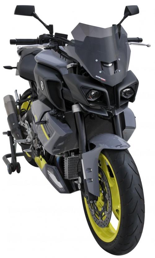Ζελατίνα MT 10 Ermax Κοντή 2016-2020 Yamaha Σκούρο Φιμέ 29cm
