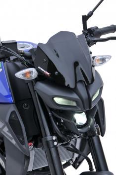 Ζελατίνα MT 125 Ermax Κοντή 2020-2021 Yamaha Σκούρο Φιμέ 22cm
