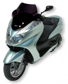 Ζελατίνα Majesty 400 Ermax Κοντή 2004-2008 Yamaha Σκούρο Φιμέ 55cm