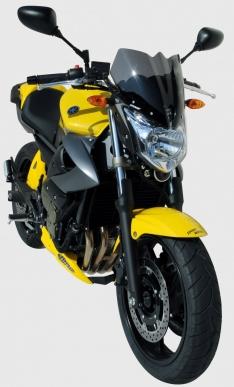 Ζελατίνα XJ6 N Ermax Κοντή 2009-2012 Yamaha Σκούρο Φιμέ 29cm