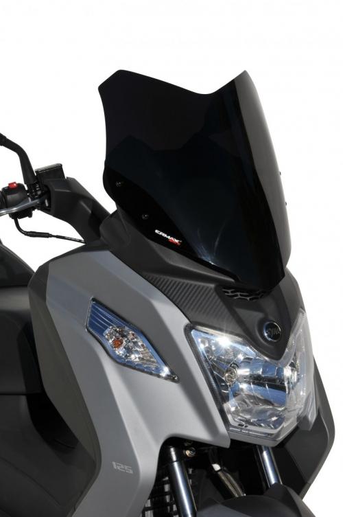 Ζελατίνα Joymax Z 125/300 Ermax Κοντή 2019-2020 Sym Σκούρο Φιμέ 40cm