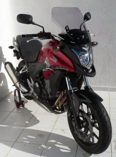 Ζελατίνα CB 500 X Ermax Ψηλή 2013-2015 Honda Ελαφρώς Φιμέ 40cm
