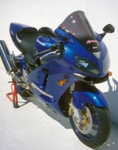 Ζελατίνα ZX 12R Κουρμπαριστή Ermax 2002-2007 Kawasaki Σκούρο Φιμέ 43cm
